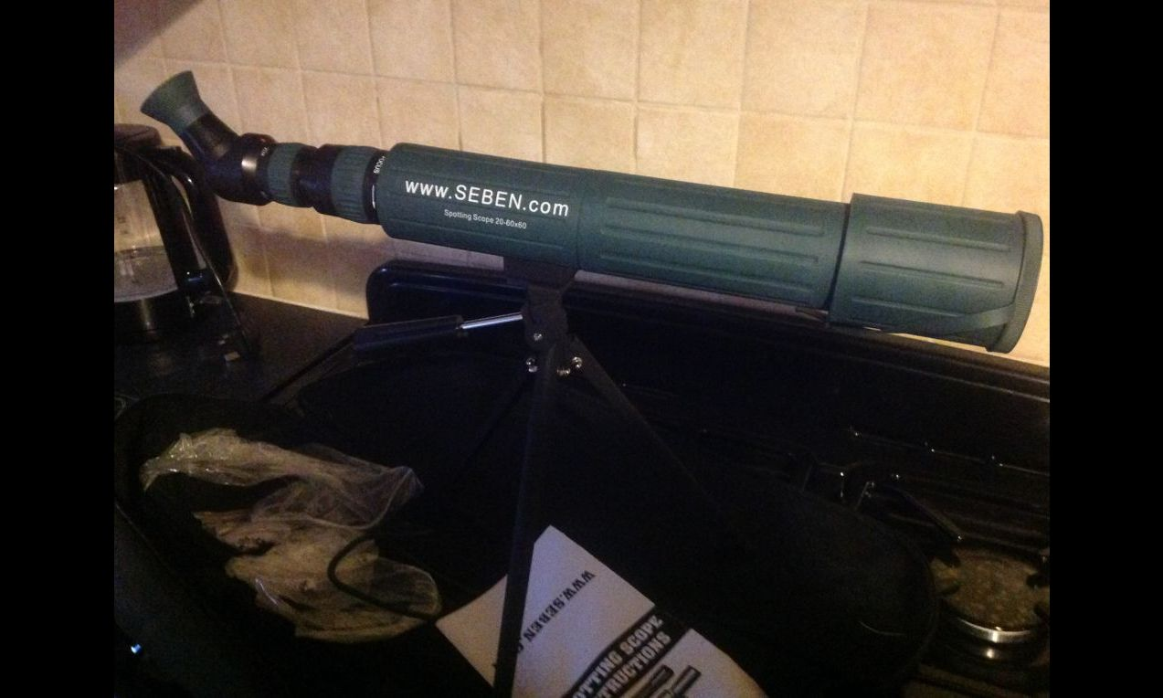 Seben 20 60x60 second hand spotting scope for sale. buy for £33.
