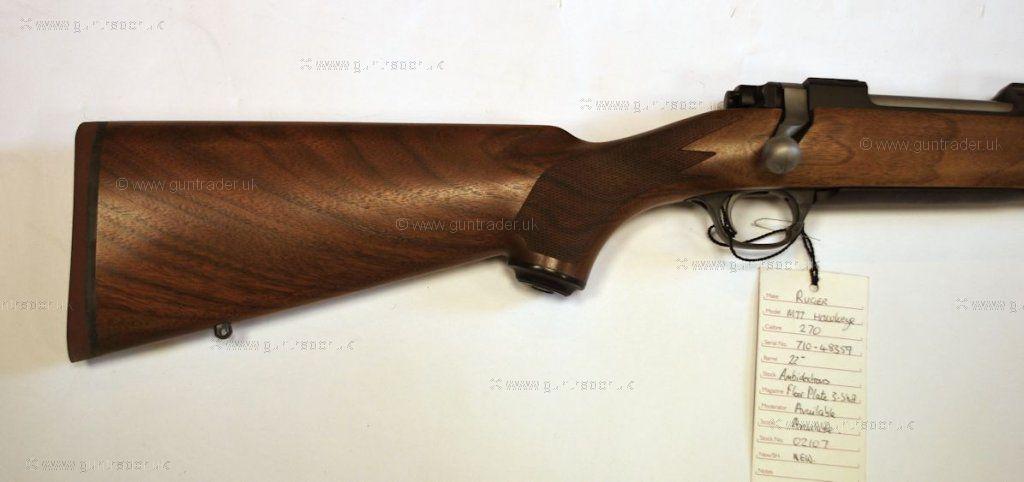 Ruger M77 Standard .243 Rifle - chuckhawks.com