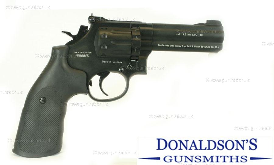 Smith & Wesson 586 Black Air Pistol
