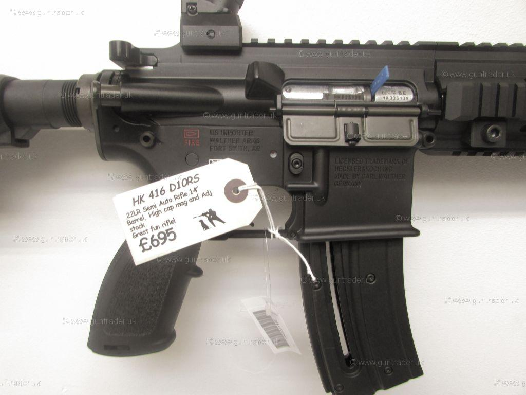 Heckler+Koch+Hk416+For+Sale Heckler & Koch .22 LR HK416 D10RS Semi ...