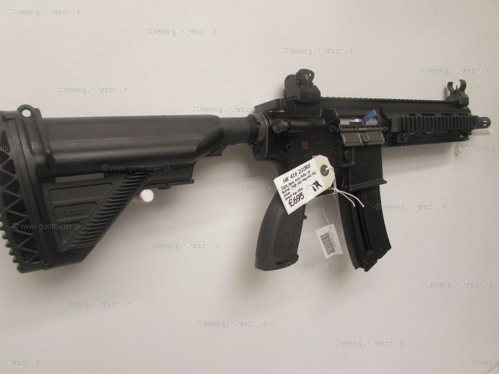 Hk416+For+Sale+Rifle+Weapons ... Koch .22 LR HK416 D10RS Semi-Auto New ...