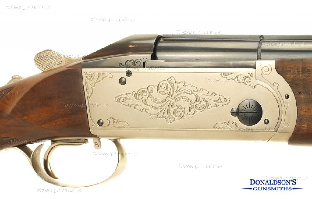 Krieghoff K80 Trap-Step Rib Shotgun