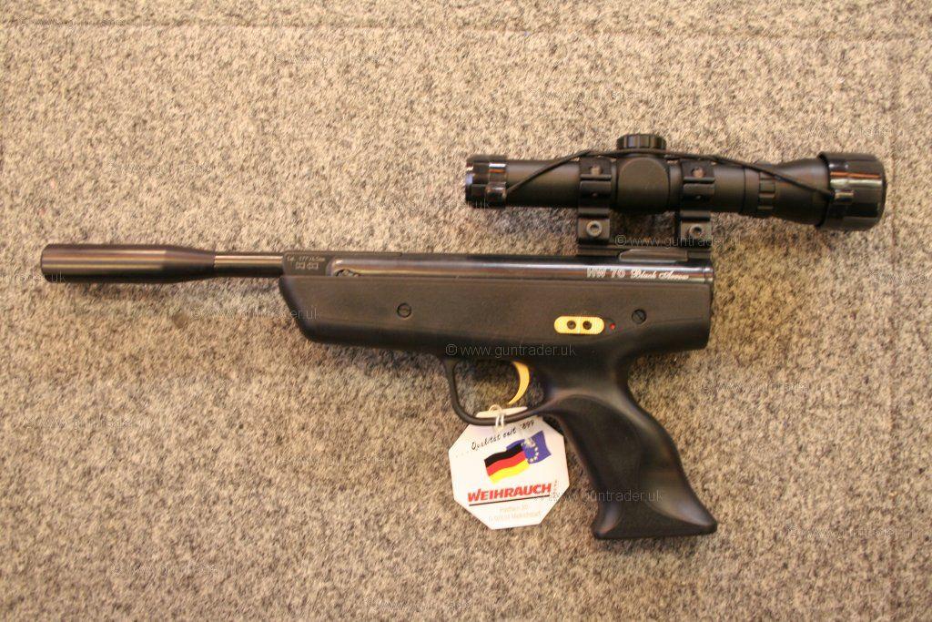 Weihrauch Hw 70 Black Arrow New Air Pistol For Sale At