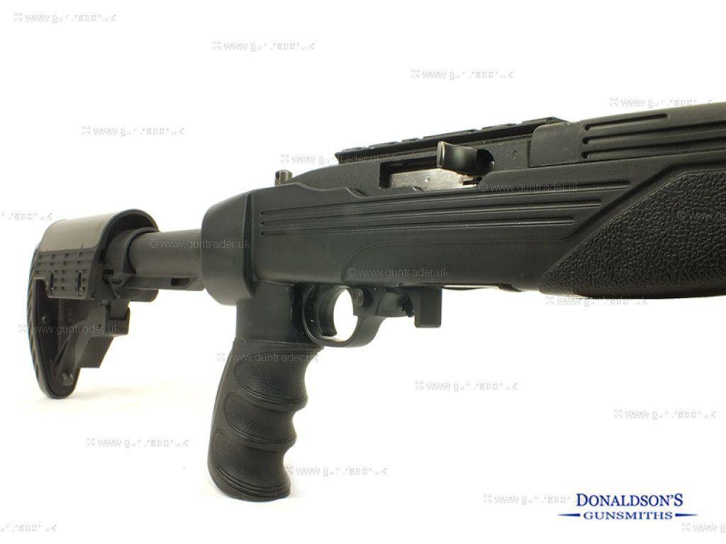 Ruger 10/22 Delux Walnut Blued Rifle