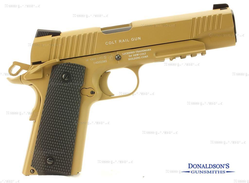 Colt 1911 Desert Tan Air Pistol