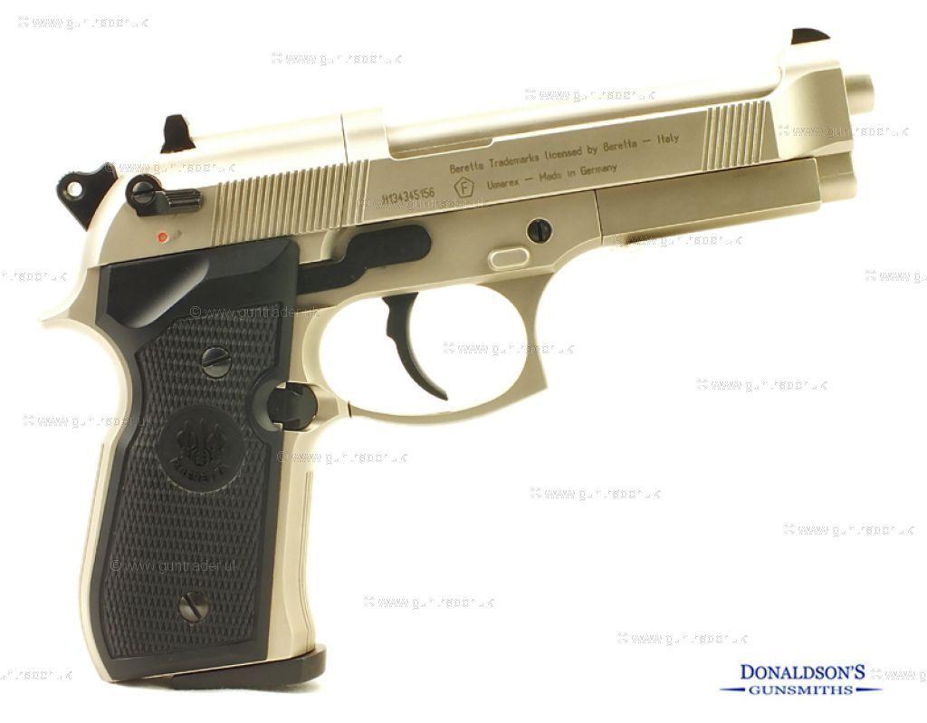 Beretta 92FS Nickel Air Pistol