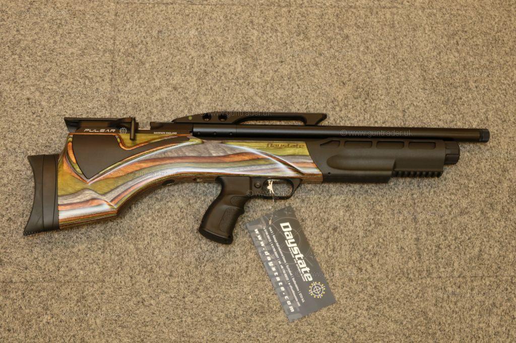 Daystate Pulsar Green Laminate New Air Rifle For Sale At