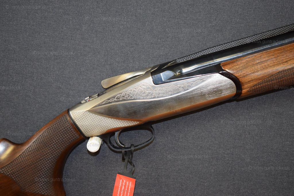 Benelli 828U Silver Shotgun on Sale at £2350 - Hadfield Guns