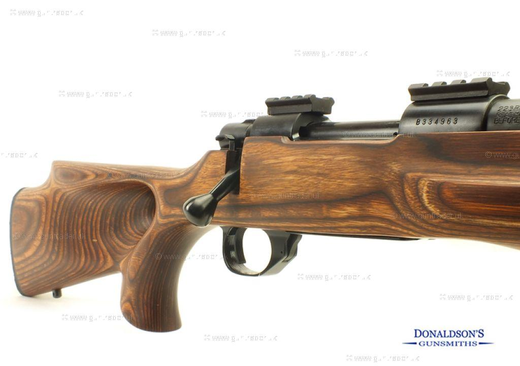 Howa 1500 Varmint Fluted Laminate Thumbhole Rifle