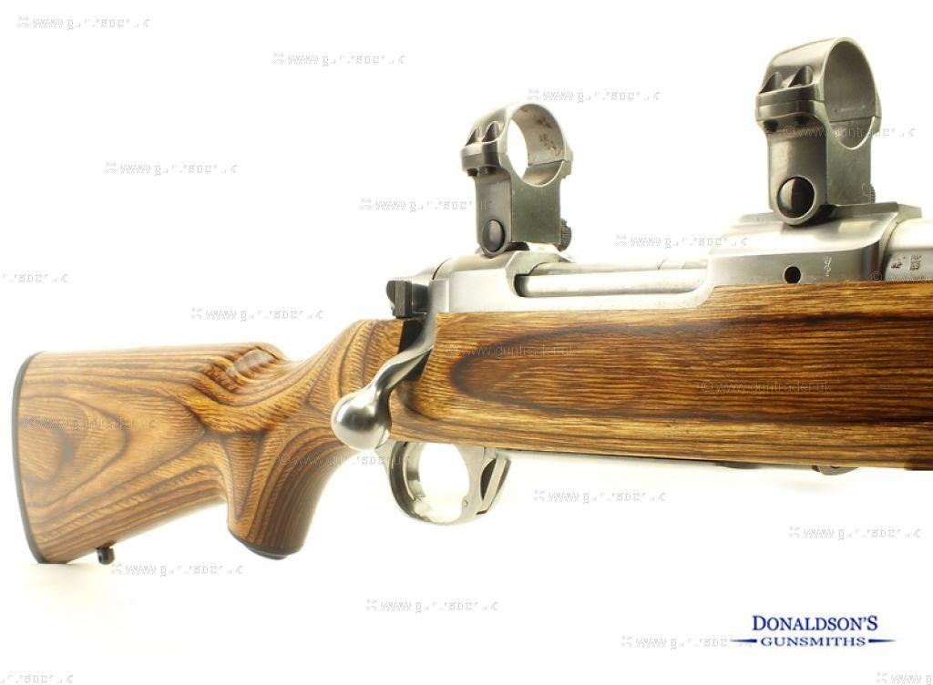 Ruger M77 Mk2 Stainless laminated Rifle