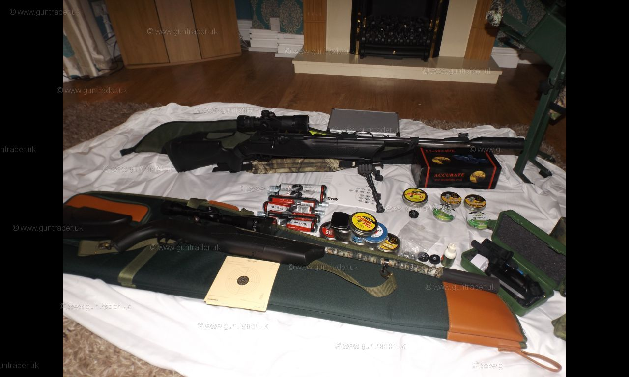 Hammerli 177 850 air magnum co2 second hand air rifle for sale buy