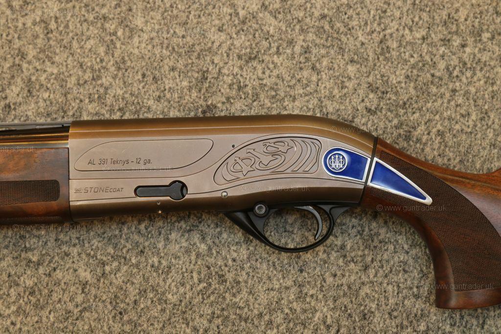 Beretta 12 gauge AL391 Teknys Stonecoat Gold Semi-Auto Second Hand ...