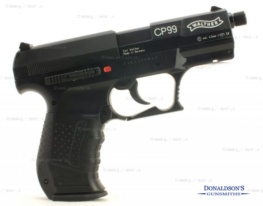Walther CP99 Silenced Air Pistol
