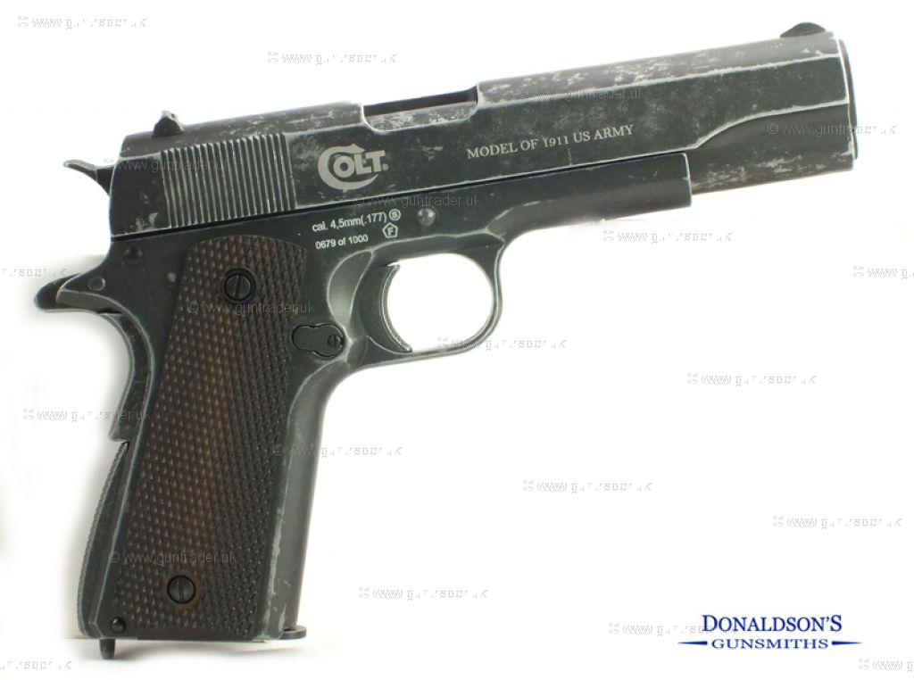 Colt 1911 WW2 Commemorative Air Pistol