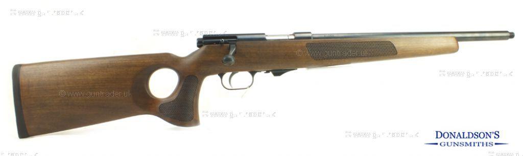 Weihrauch HW 66 Walnut Thumbhole. Rifle