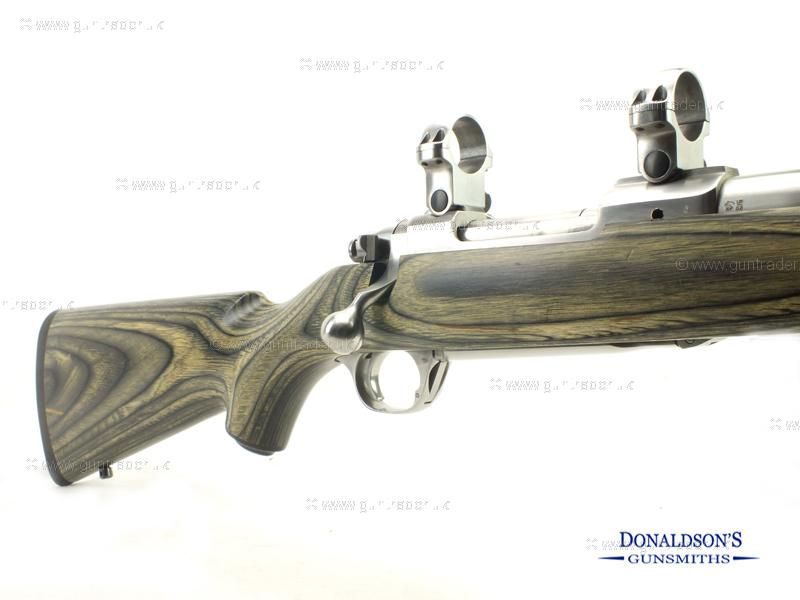 Ruger M77 Laminated stainless Rifle