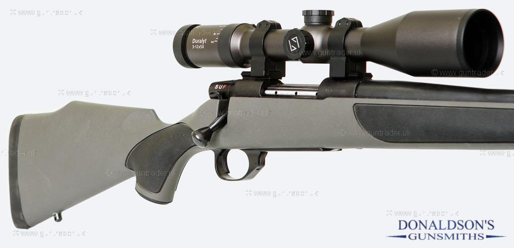 Weatherby Vanguard-with Zeizz Rifle