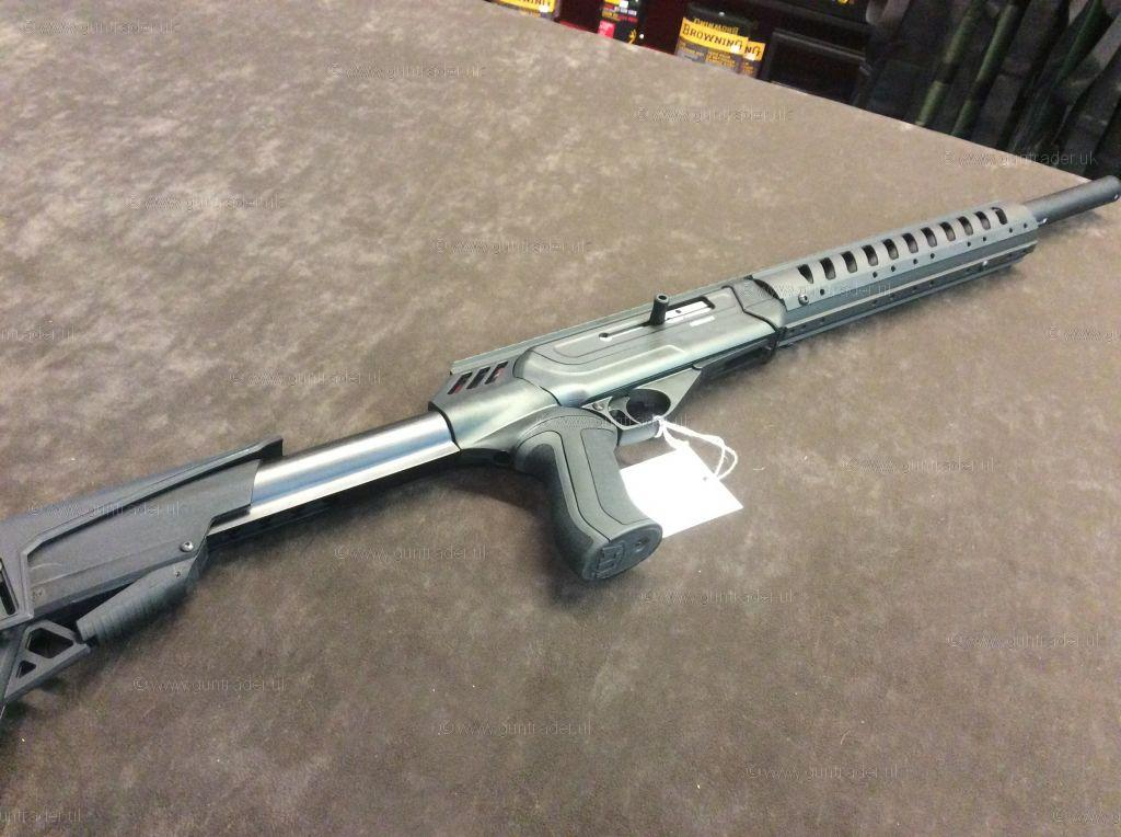 Cz 512 Tactical Suppressed 22 Lr Rifle New Guns For