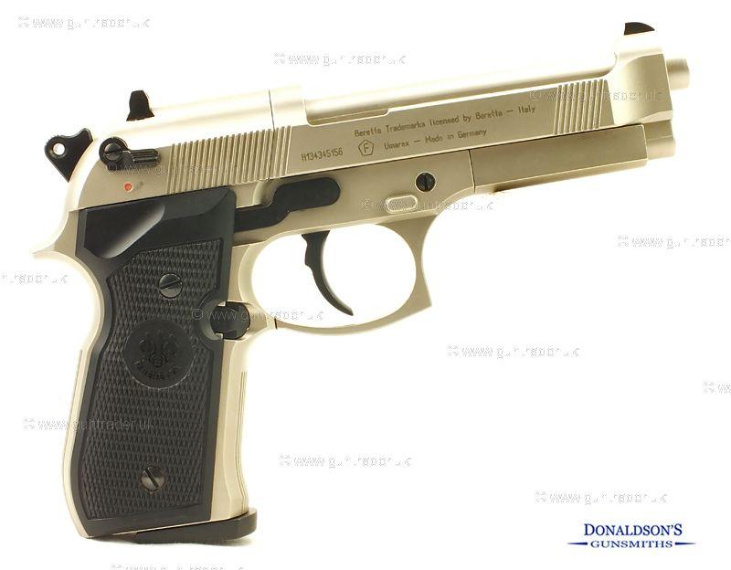 Beretta 92 fs Nickel Air Pistol