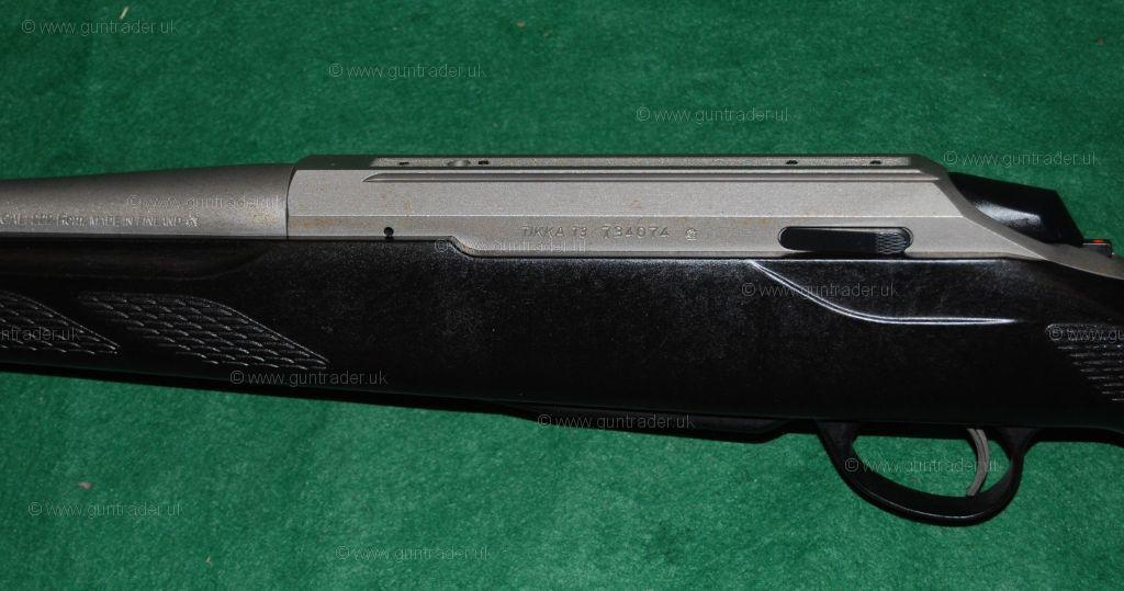 tikka 222 t3 lite stainless bolt action new rifle for sale buy for 700. Black Bedroom Furniture Sets. Home Design Ideas
