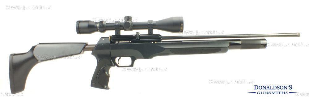 RWS Scimitar-Pump grip.Outfit Air Rifle