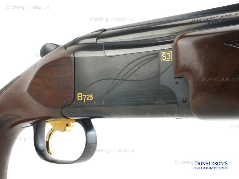 Browning B725 Sporter Black Edition Adjustable Comb Shotgun