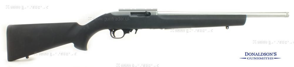 Ruger 10/22 Hogue stock stainless Rifle