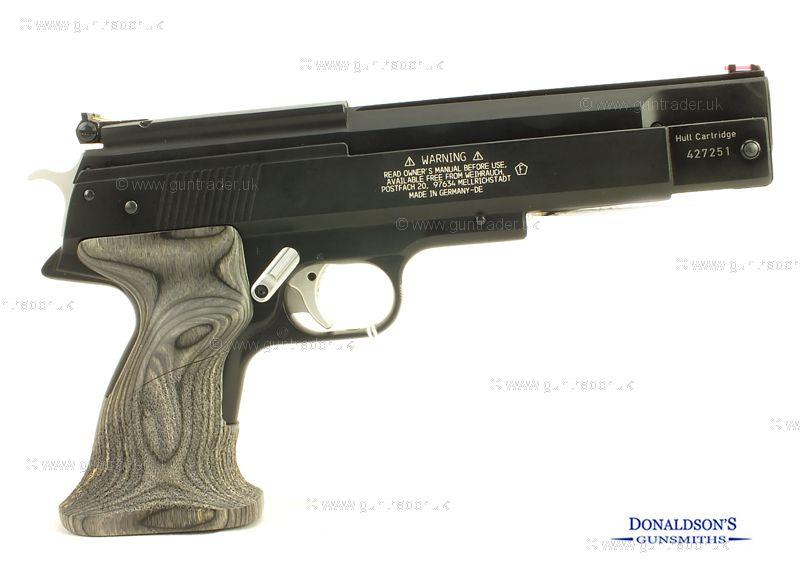 Weihrauch HW 45 Black Star Air Pistol