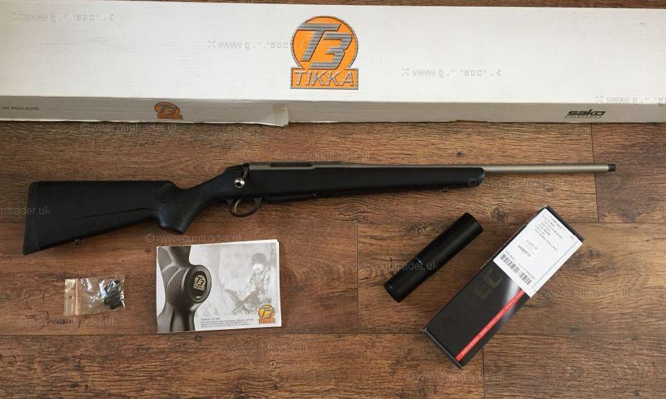 tikka 270 t3 lite stainless bolt action second hand rifle for sale buy for 650. Black Bedroom Furniture Sets. Home Design Ideas