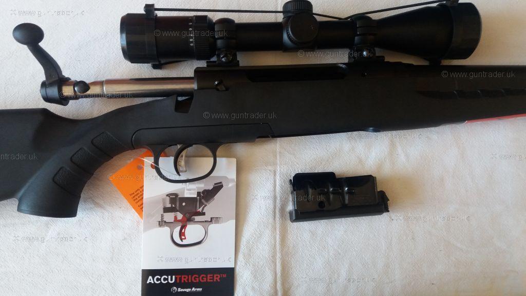 Savage Arms  243 Axis 11 XP