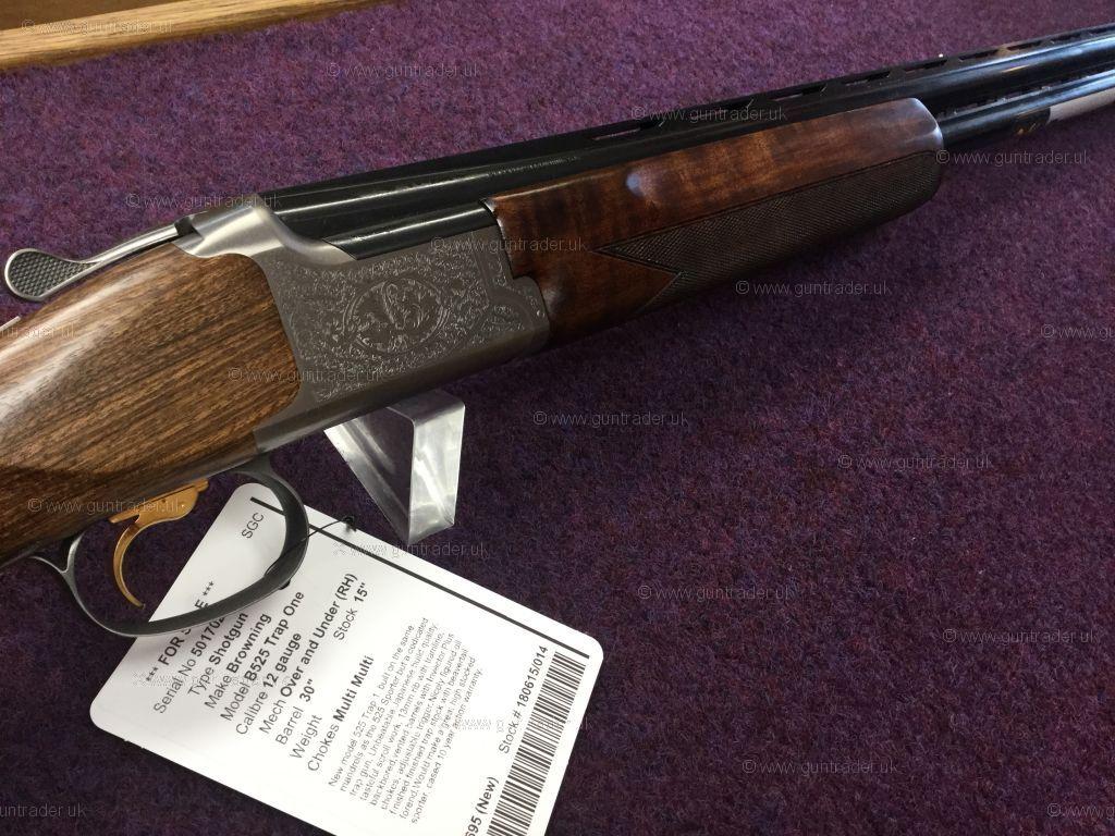 Browning 12 gauge B525 Trap One