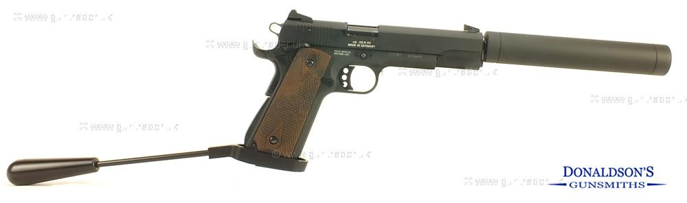 GSG 1911 Standard - Wood Pistol (Long Barrel)