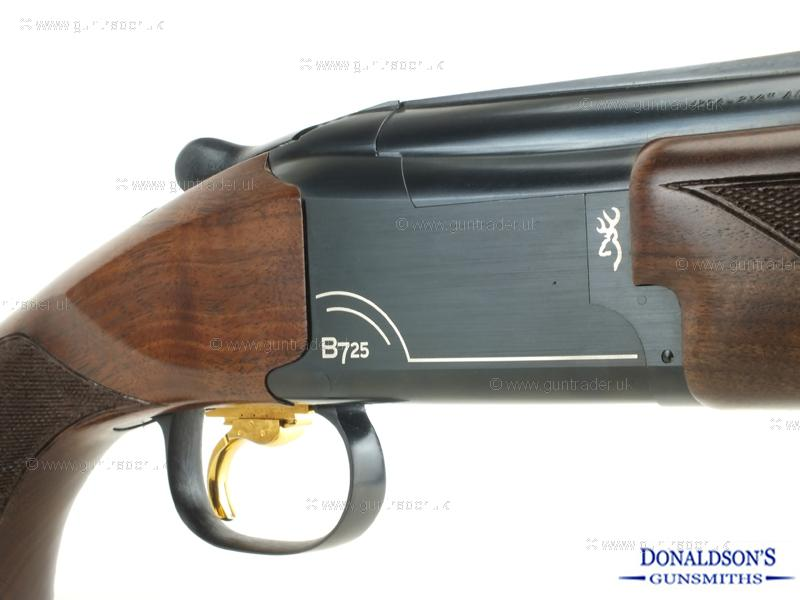 Browning B725 Sporter 2 Black Edition Silver Shotgun
