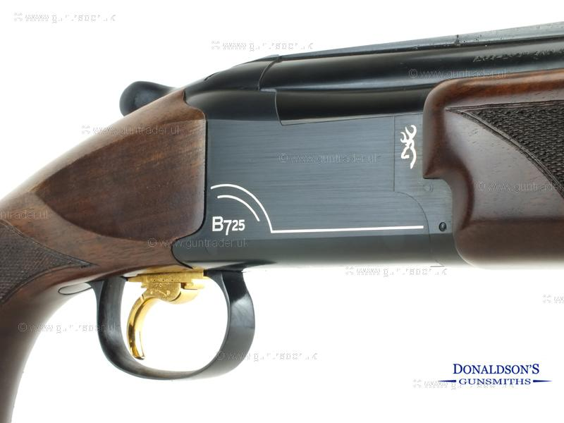 New 12 gauge Browning B725 Sporter 2 Black Edition Silver