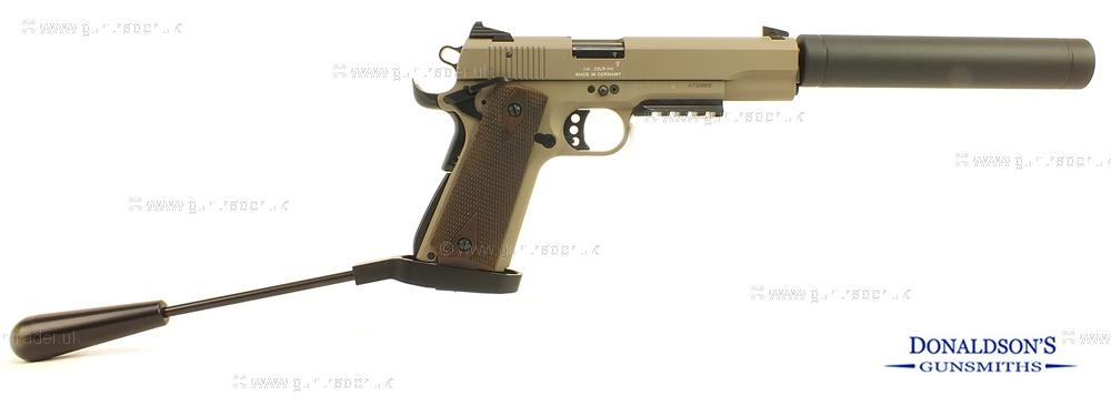 GSG 1911 OD-GREEN Pistol (Long Barrel)