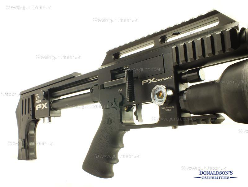 FX Impact Black Air Rifle