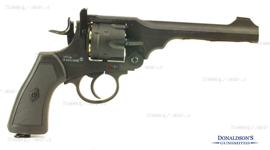 ASG Webley MK6 Air Pistol