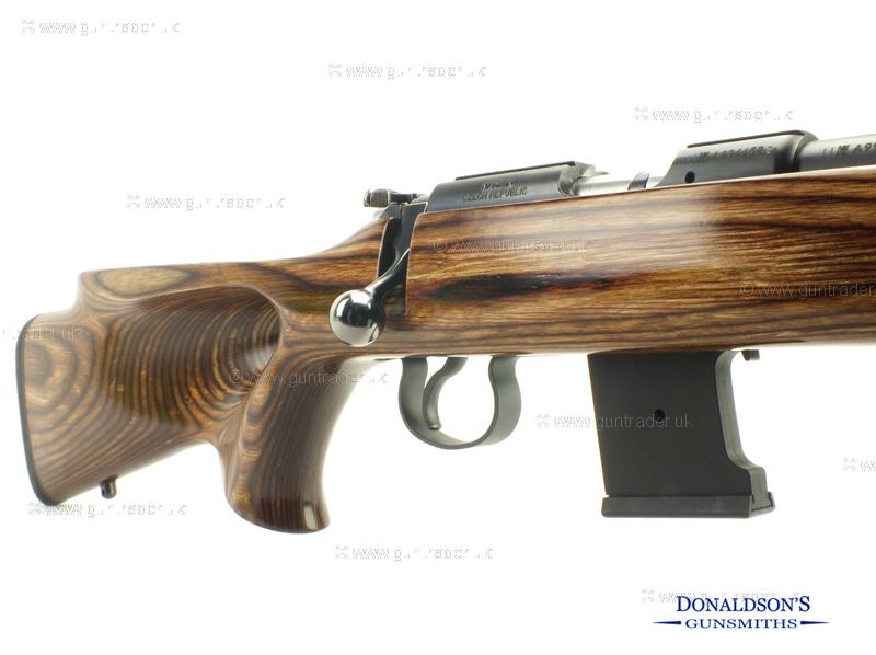 CZ 455 Varmint T/H laminated Rifle