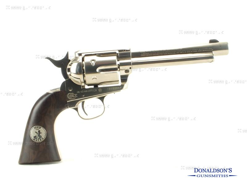 Colt Peacemaker Nickel Duke Air Pistol