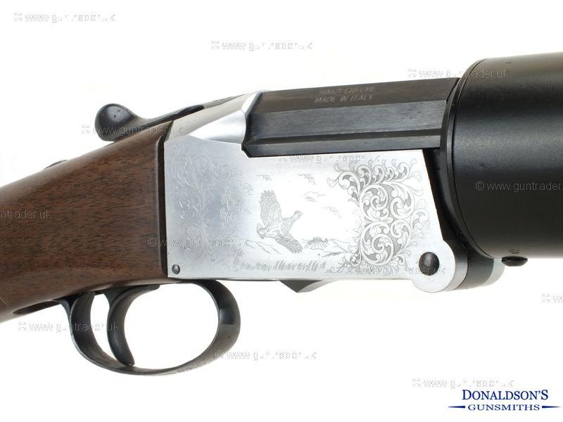 Investarm Hushpower Fully moderated Double OU Shotgun