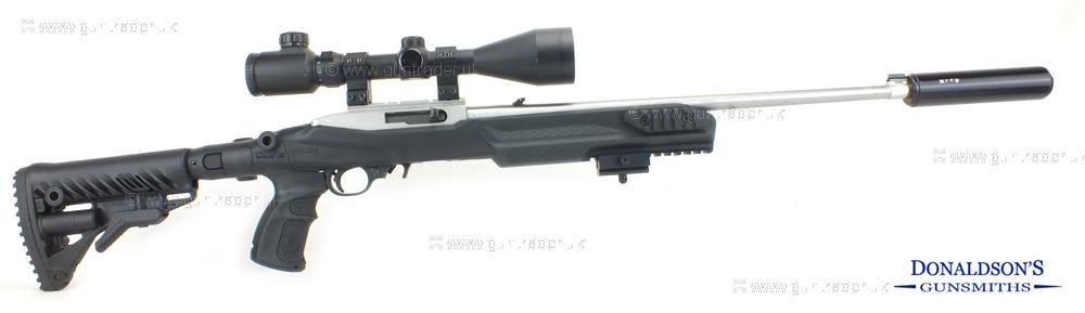 Ruger 10/22 Custom outfit Rifle