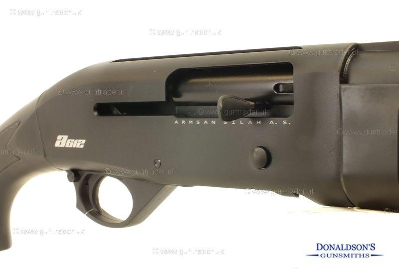 Armsan A612 Black Synthetic Shotgun