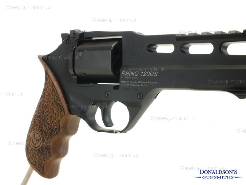 Chiappa Rhino Black Pistol (Long Barrel)
