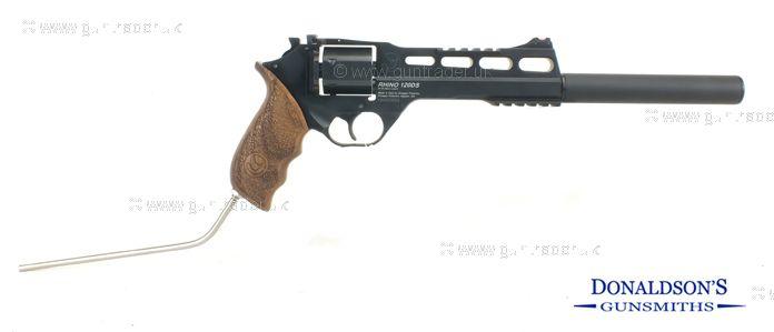 Chiappa Rhino Black Pistol (Long Barrel)