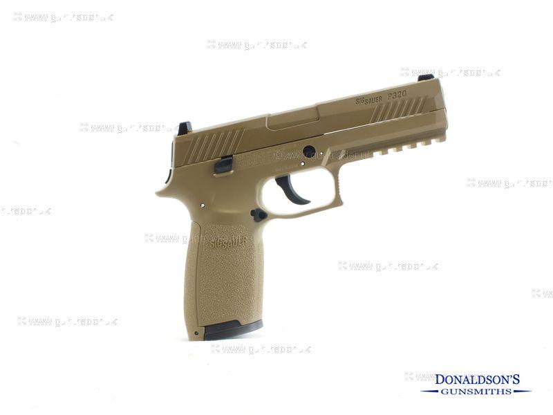 Sig Sauer P320 Tan Air Pistol