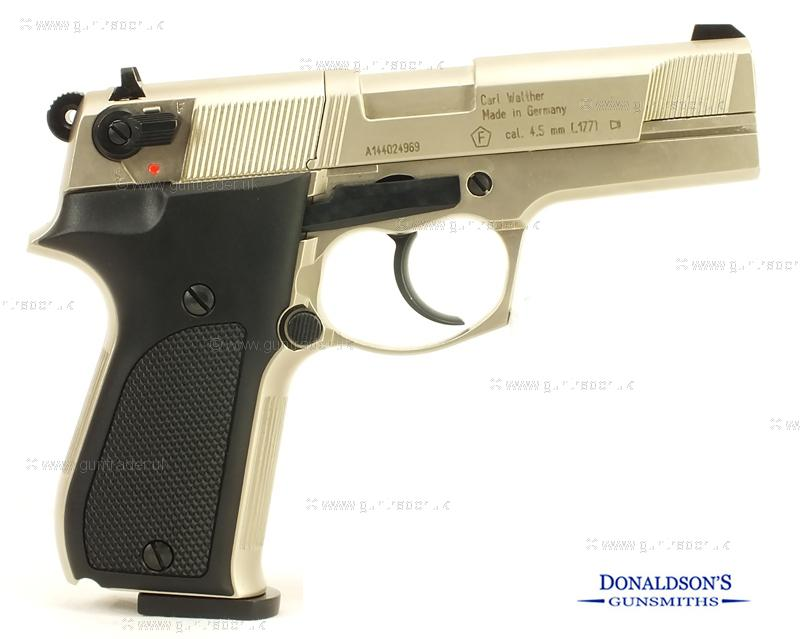Walther CP88 Nickel Air Pistol