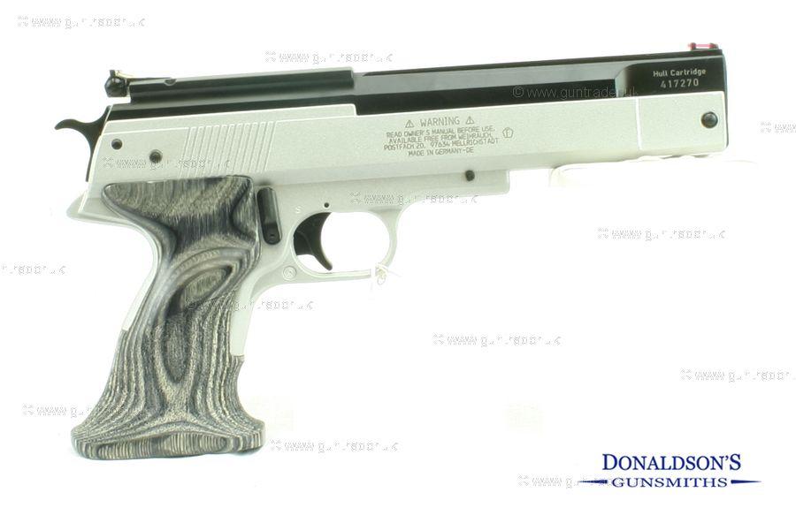 Weihrauch HW 45 Silver Star Air Pistol