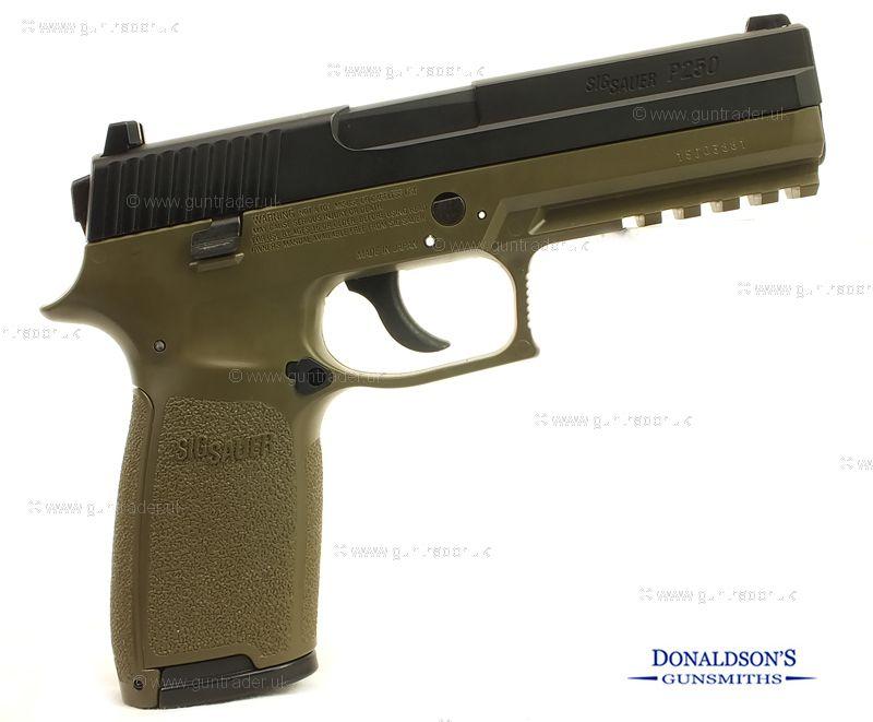 Sig Sauer P250 OD Green Air Pistol