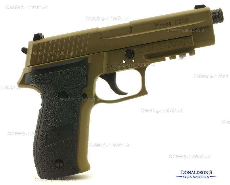 Sig Sauer P226 FDE Air Pistol