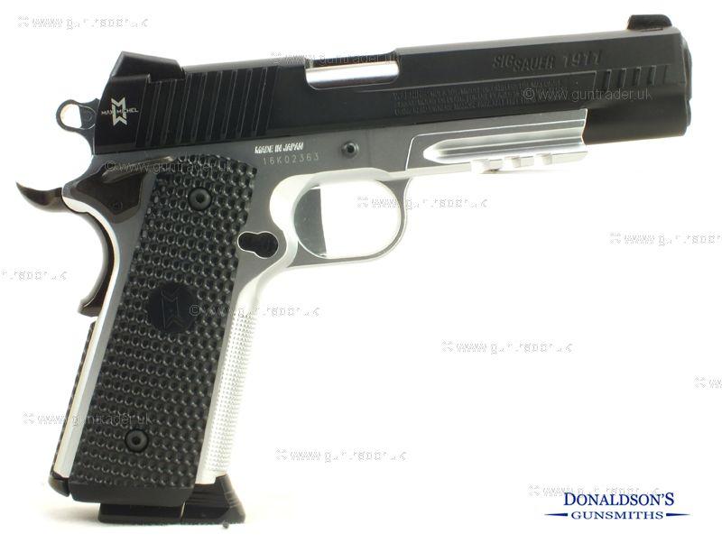 Sig Sauer 1911 Max Michel Air Pistol